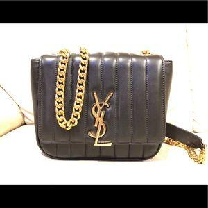 YSL VIcky Medium  YSL Quilted Shoulder Bag